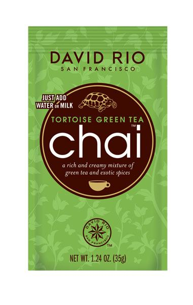 David Rio Chai Tortoise Green tea Tüte
