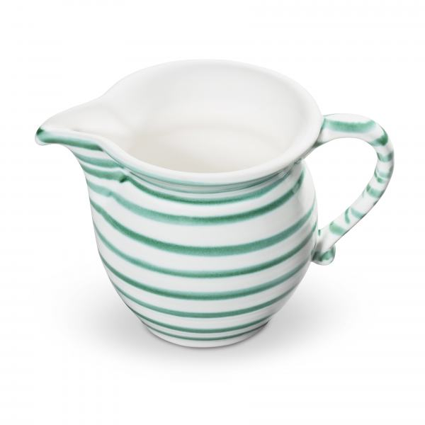 Gmundner Keramik Grüngeflammt Milchgießer glatt 0.5L