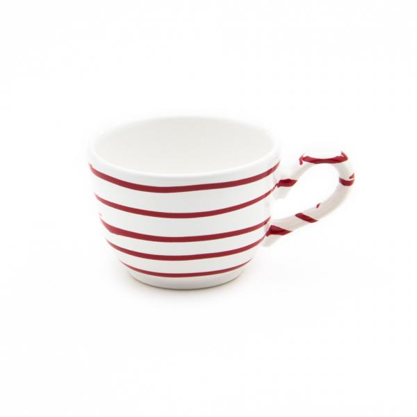 Gmundner Keramik Rotgeflammt Kaffeetasse glatt (0.19L)