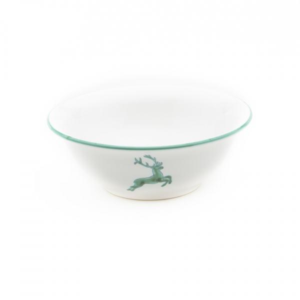 Gmundner Keramik Grüner Hirsch Salatschüssel (Ø 20cm)
