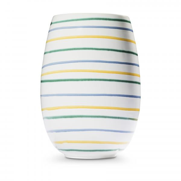 Gmundner Keramik Buntgeflammt Vase H: 21cm