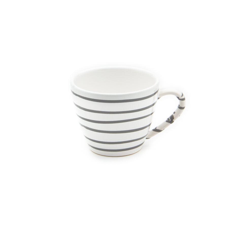 Gmundner Keramik Graugeflammt Kaffeetasse Gourmet 0.2L