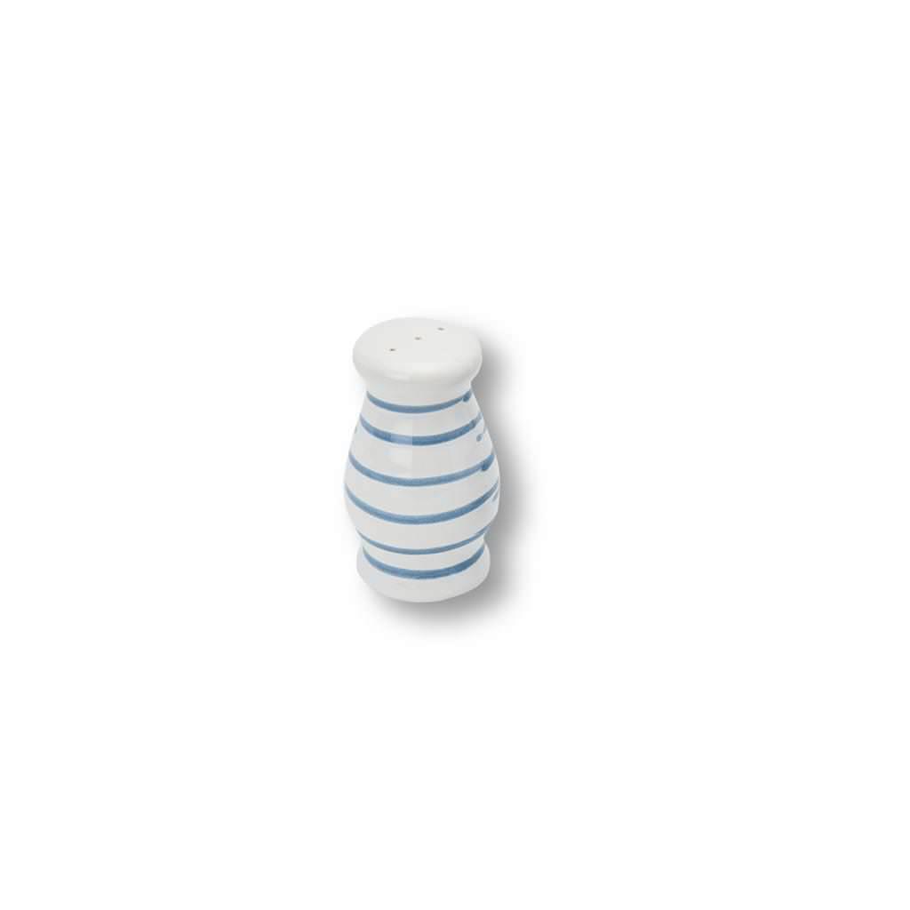 Gmundner Keramik Blaugeflammt Pfefferstreuer bauchig