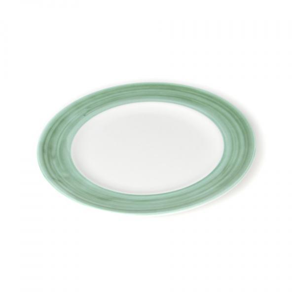 Gmundner Keramik Variation grün Speiseteller Gourmet (Ø 29cm)