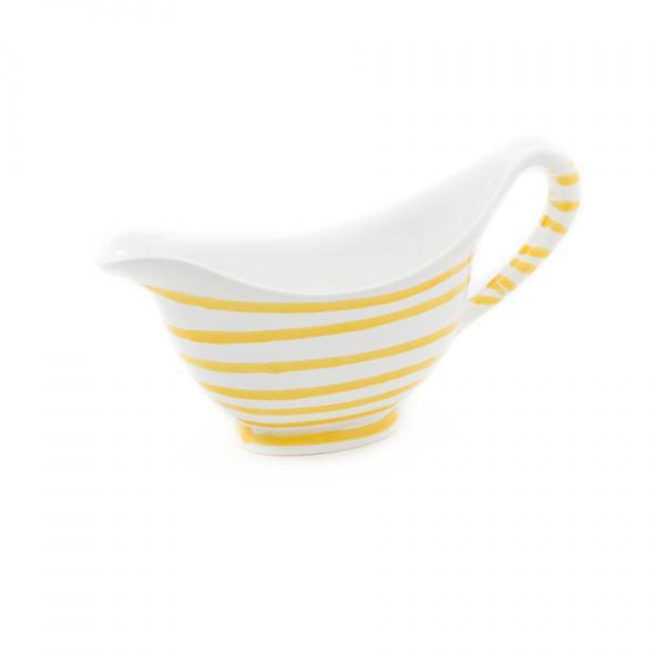 Gmundner Keramik Gelbgeflammt Sauciere 0.2L
