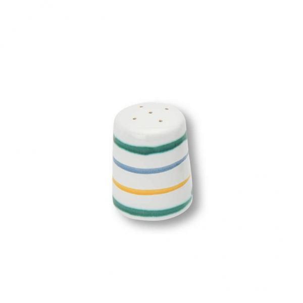 Gmundner Keramik Buntgeflammt Salzstreuer glatt