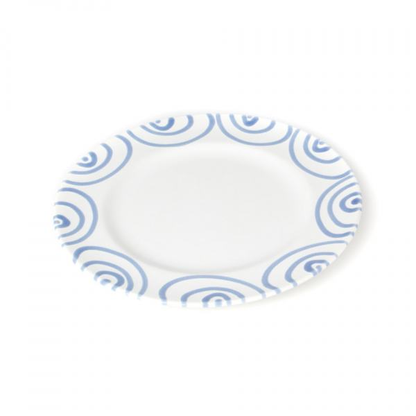 Gmundner Keramik Blaugeflammt Dessertteller Gourmet (Ø 22cm)