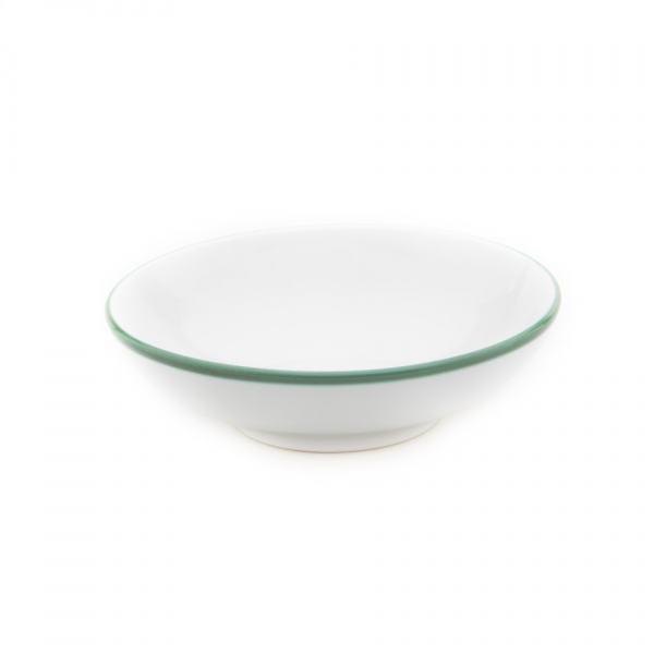 Gmundner Keramik Grüner Rand Schale groß (Ø 17cm)