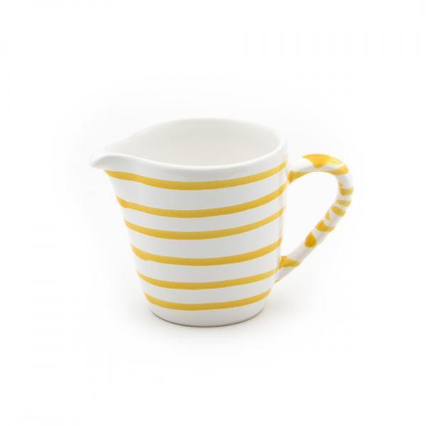 Gmundner Keramik Gelbgeflammt Milchgießer Gourmet 0.2L