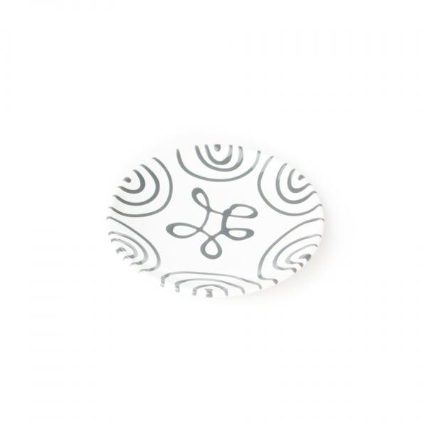 Gmundner Keramik Unterteller Mokka glatt 11cm