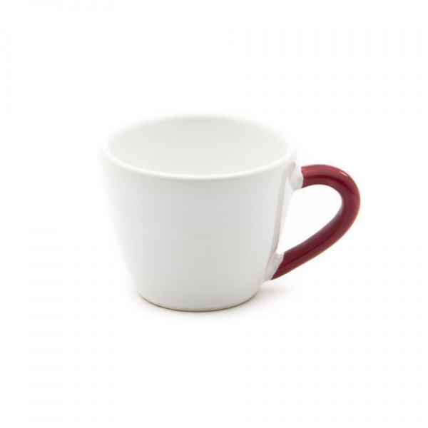 Gmundner Keramik Variation bordeauxrot Espressotasse