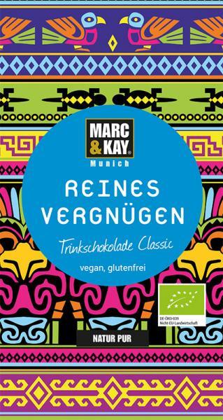 Marc & Kay Trinkschokolade 25 gr Reines Vergnügen