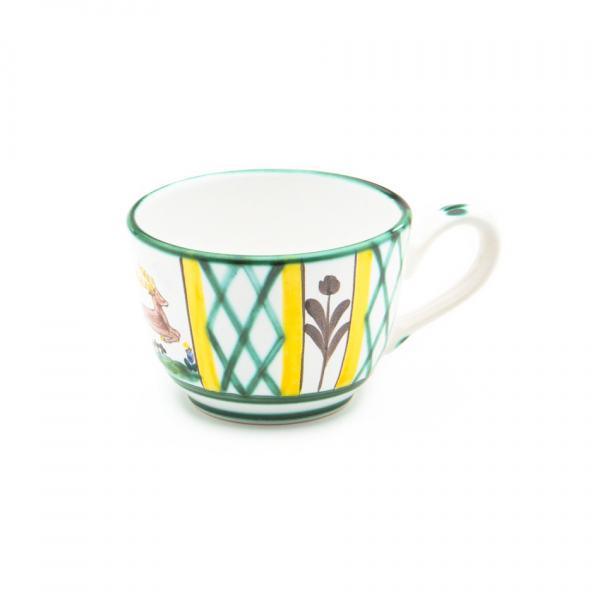 Gmundner Keramik Jagd Kaffeetasse glatt (0.19L)