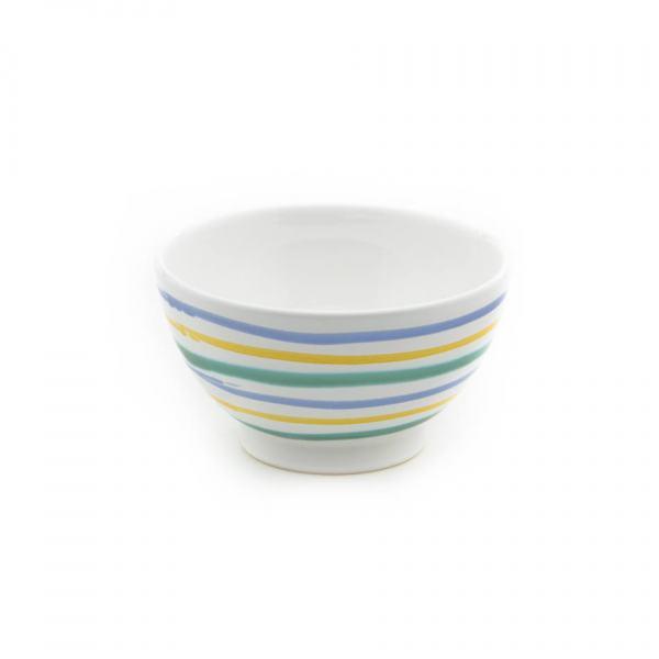 Gmundner Keramik Buntgeflammt Müslischale groß (Ø 14cm)