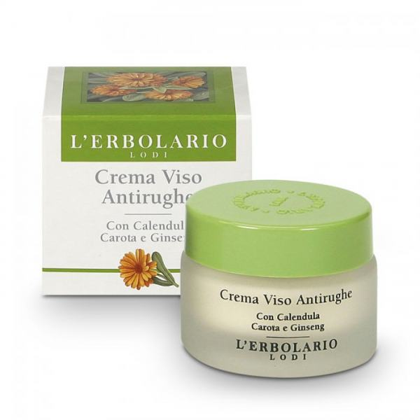 L'erbolario Gesichtscreme mit Ringelblume, Karotte & Ginseng 30ml