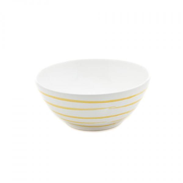 Gmundner Keramik Gelbgeflammt Schüssel 20cm
