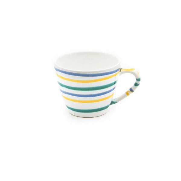 Gmundner Keramik Buntgeflammt Kaffeetasse Gourmet 0.2L