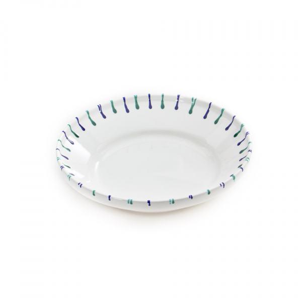 Gmundner Keramik Traunsee Reifschüssel ohne Henkel (Ø 32cm)
