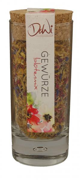 DeWi Blüten Mix Gewürz im Korkenglas 4g