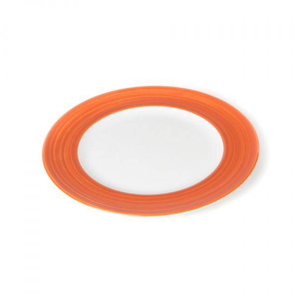Gmundner Keramik Variation Orange Dessertteller Gourmet (Ø 22cm)