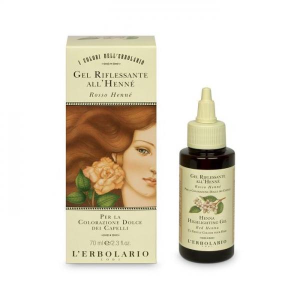 L'erbolario Haarfarben Gel mit Henna - Hennarot - 70 ml