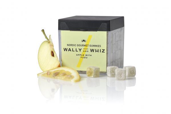 Weingummis Wally & Whiz Apfel mit Yuzu 150g