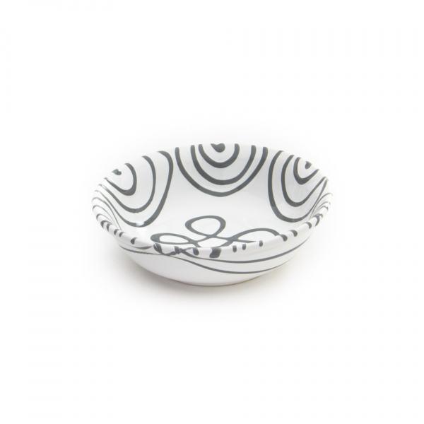 Gmundner Keramik Graugeflammt Müslischale klein Ø 14cm