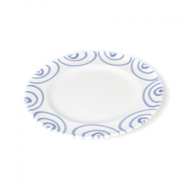 Gmundner Keramik Blaugeflammt Dessertteller Gourmet (Ø18cm)