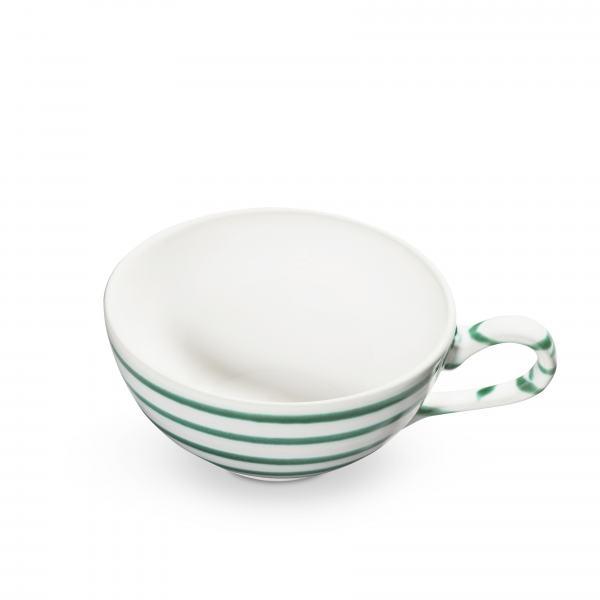Gmundner Keramik Grüngeflammt Teetasse glatt 0.17L