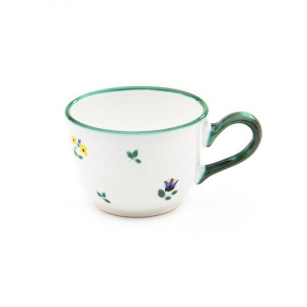 Gmundner Keramik Streublumen Kaffeetasse glatt 0.19L