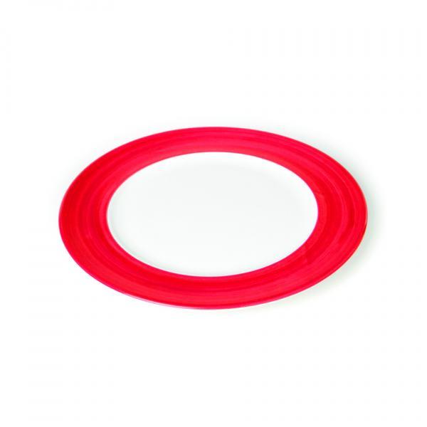 Gmundner Keramik Variation Rubinrot Speiseteller Gourmet (Ø 29cm)