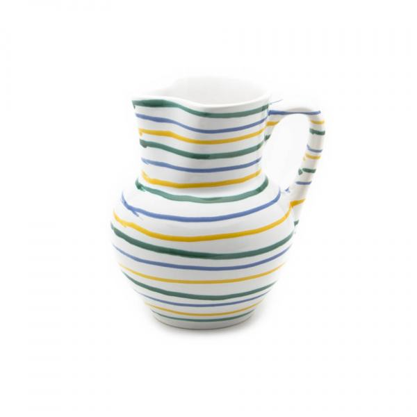 Gmundner Keramik Buntgeflammt Krug Wiener Form (1L)